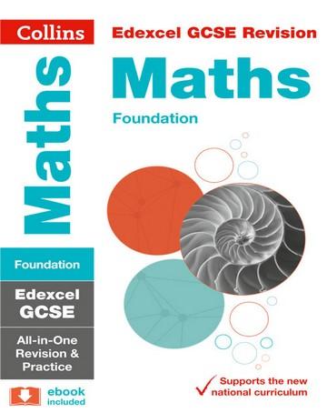 Edexcel GCSE Maths Foundation All-in-One Revision and Practice (Collins GCSE 9-1 Revision) - Collins GCSE