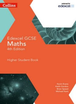 GCSE Maths Edexcel Higher Student Book (Collins GCSE Maths) - Kevin Evans