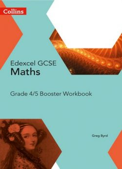 GCSE Maths Edexcel Grade 4/5 Booster Workbook (Collins GCSE Maths) -