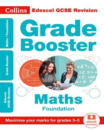 Edexcel GCSE Maths Foundation Grade Booster for grades 3-5 (Collins GCSE 9-1 Revision)