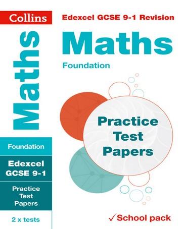 Edexcel GCSE Maths Foundation Practice Test Papers (Collins GCSE 9-1 Revision) - Collins GCSE