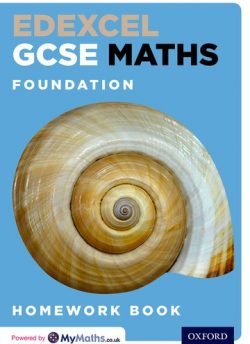 Edexcel GCSE Maths Foundation Homework Book - Clare Plass