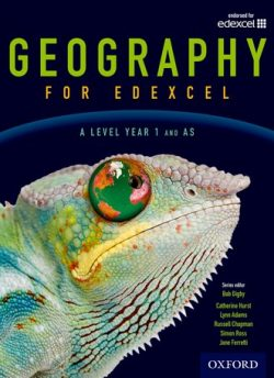Geography for Edexcel A Level  Year 1 and AS Student Book - Bob Digby