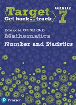 Target Grade 7 Edexcel GCSE (9-1) Mathematics Number and Statistics Workbook - Diane Oliver