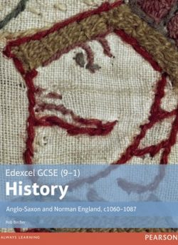 Edexcel GCSE (9-1) History Anglo-Saxon and Norman England