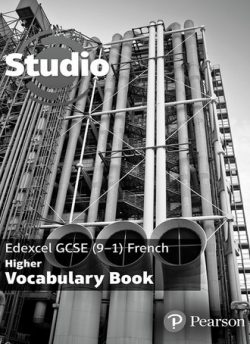 Studio Edexcel GCSE French Higher Vocab Book (pack of 8) -