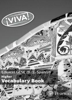 Viva! Edexcel GCSE Spanish Higher Vocab Book (pack of 8) -