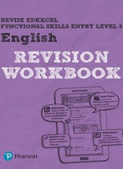 Revise Edexcel Functional Skills English Entry Level 3 Workbook - David Grant