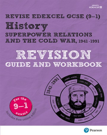 Revise Edexcel GCSE (9-1) History Superpower relations and the Cold War Revision Guide and Workbook: (with free online edition) - Brian Dowse