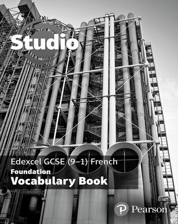 Studio Edexcel GCSE French Foundation Vocab Book (pack of 8) -