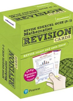 REVISE Edexcel GCSE (9-1) Mathematics Foundation Revision Cards: includes FREE online Revision Guide - Harry Smith