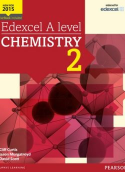 Edexcel A level Chemistry Student Book 2 + ActiveBook - Cliff Curtis