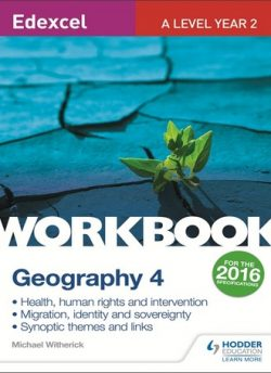 Edexcel A Level Geography Workbook 4: Health