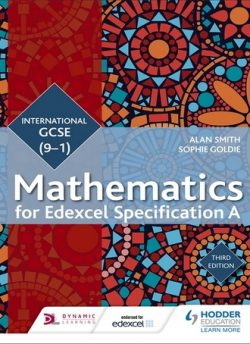 Edexcel International GCSE (9-1) Mathematics Student Book Third Edition - Alan Smith