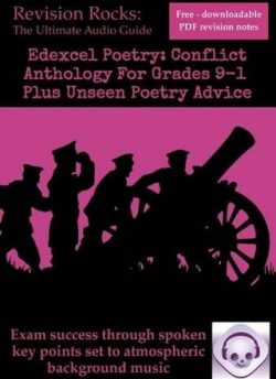 Edexcel GCSE Poetry: Conflict Anthology for Grades 9-1 Plus Unseen Poetry Advice - Emily Bird