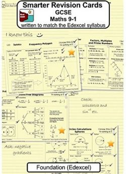 Smarter Revision Cards - GCSE Maths 9-1 Foundation (Edexcel): Written to match the Edexcel Foundation syllabus - Valerie Redcliffe