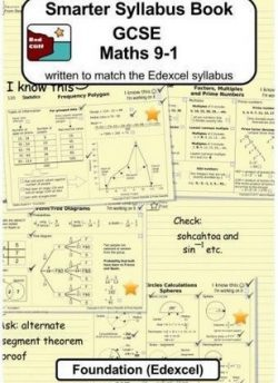 Smarter Syllabus Book - GCSE Maths 9-1 Foundation (Edexcel): Written to match the Edexcel Foundation syllabus - Valerie Redcliffe