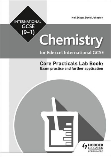 Edexcel International GCSE Chemistry Student Lab Book