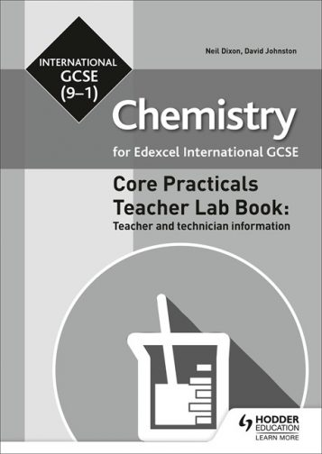 Edexcel International GCSE (9-1) Chemistry Teacher Lab Book
